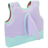 Dolphin float vest back view with dolphin fin | SaplingShop