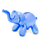 Made by Humans Balloon Money Bank Blue Elephant