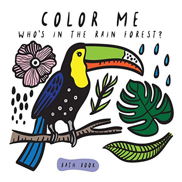 "Color Changing Bath Book | ""Who's In The Rainforest?"""