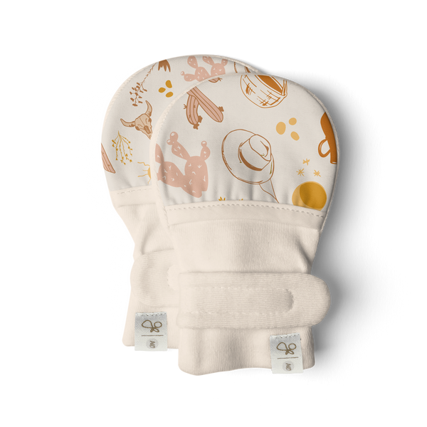 Goumi Stay-On Baby Mitts | Canyon