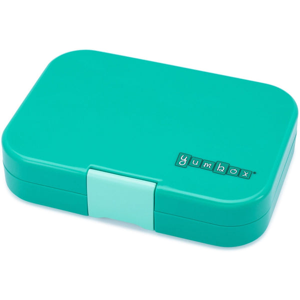 Yumbox Panino 4 Compartment Sandwich Box | Kashmir Aqua