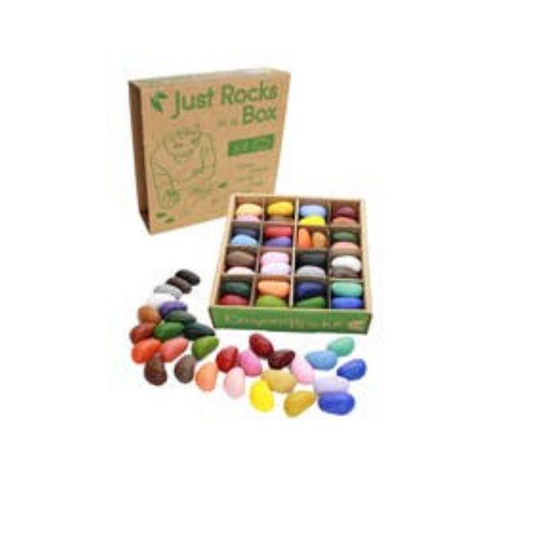 Just Rocks In A Box | 64 Crayons