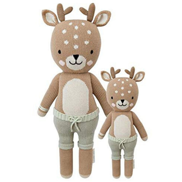 cuddle + kind Hand Knit Little Dolls | Elliot the Fawn