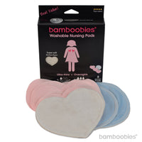 bamboobies Milk Proof Washable Nursing Pads