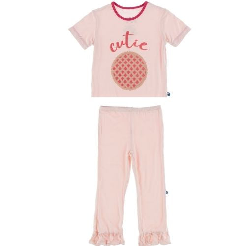 Kickee Pants Graphic Tee and Pants Set | Cutie Pie