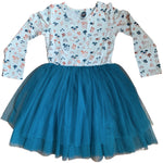 Tutu Toddler Long Sleeve Dress | Field of Dreams