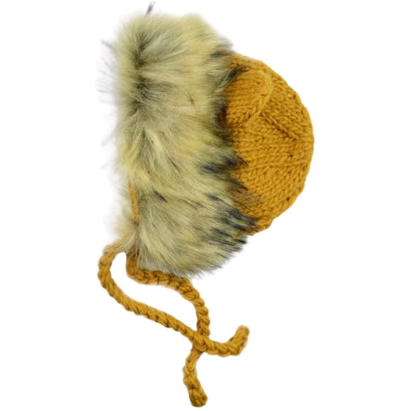 Hand Knit Winter Hat | Lennon Lion  (Infant - 8 Year)