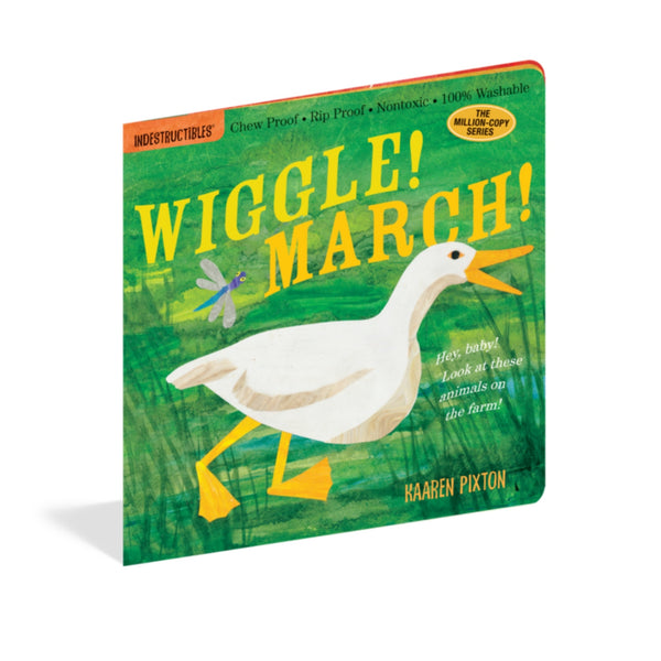 Indestructibles Books |Wiggle March