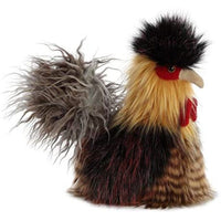 "Luxe 11"" Plush Rooster 