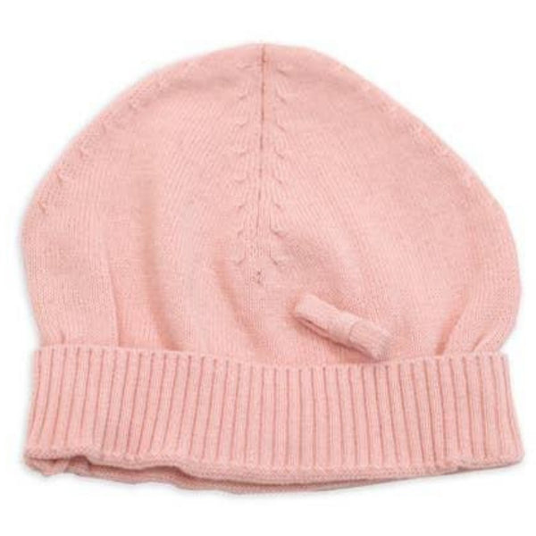 Viverano Organic Cotton Knit Hat | Blush