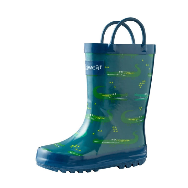 Loop Handle Rainboots | Crocodiles