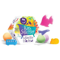 bath bombs for kids with surprise sponge toys inside