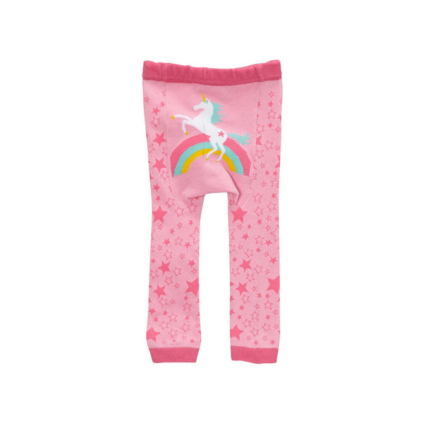 Baby and Toddler Cotton Leggings | Rainbow Unicorn