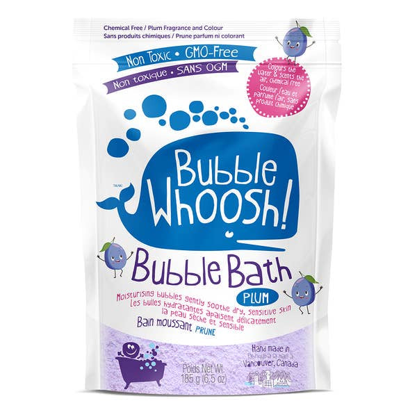 Bubble Whoosh! | Blue Plum Scented Bubble Bath for Sensitive Skin