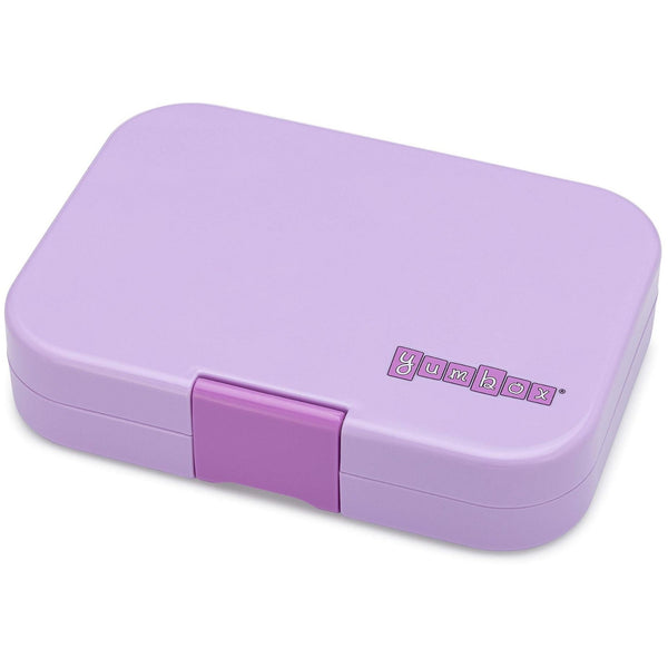 Yumbox Panino 4 Compartment Sandwich Box | Lila Purple