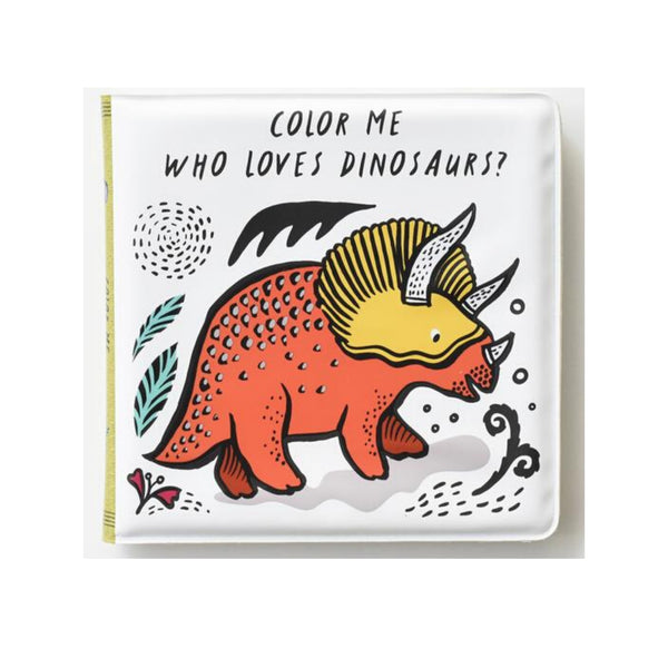 "Color Changing Bath Book | ""Who Loves Dinosaurs?"""