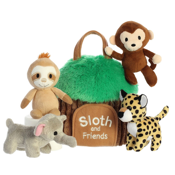 Sloth and Friends Soft Interactive Playhouse