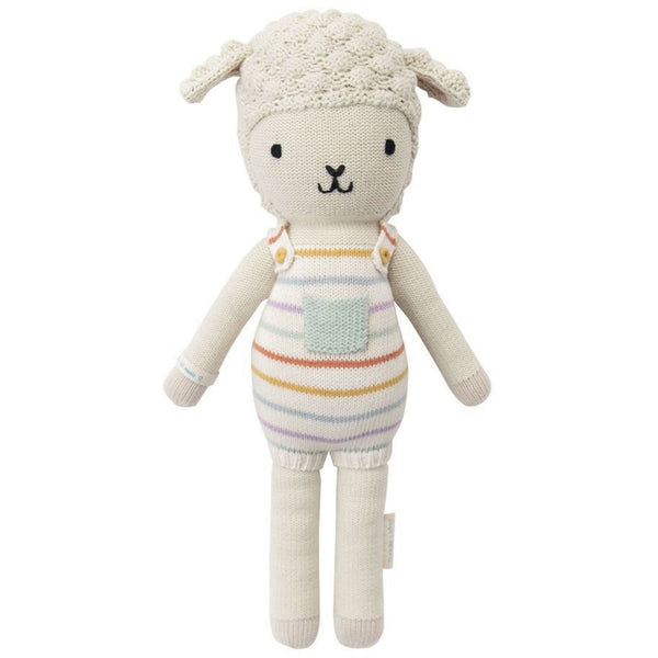 cuddle + kind Hand Knit Little Dolls | Avery the Lamb