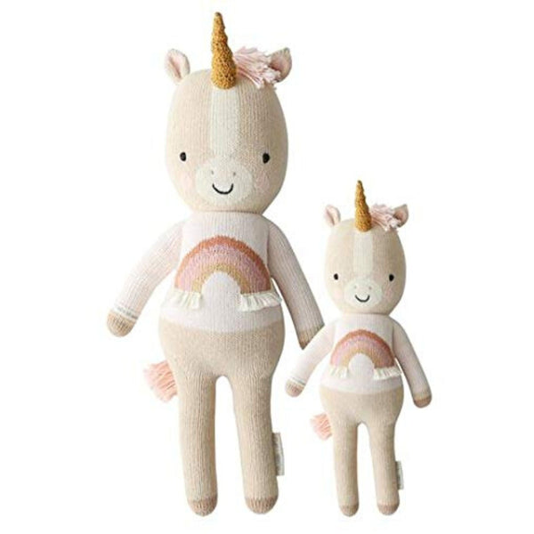 cuddle + kind Hand Knit Little Dolls | Zara the Unicorn