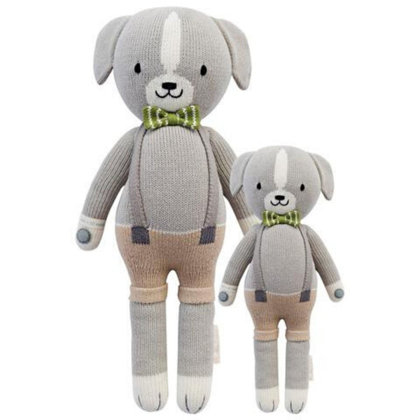 cuddle + kind Hand Knit Little Dolls | Noah the Dog