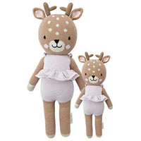 cuddle + kind Hand Knit Little Dolls | Violet the Fawn