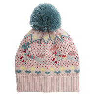 Knit Hat with Fleece Lining | Fairground Ponies