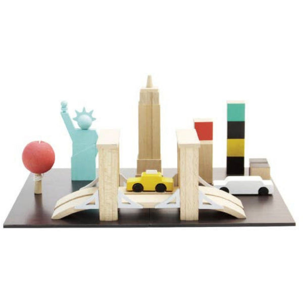 Wooden Play Machi Town | NYC