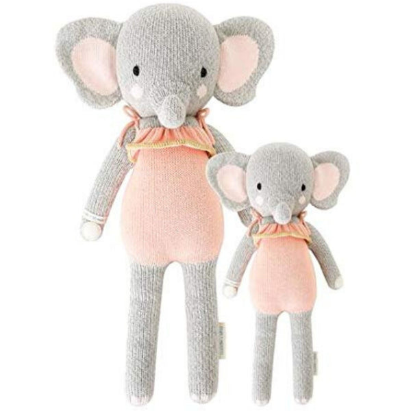 cuddle + kind Hand Knit Little Dolls | Eloise the Elephant