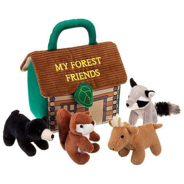 Forest Friends Soft Interactive Playhouse