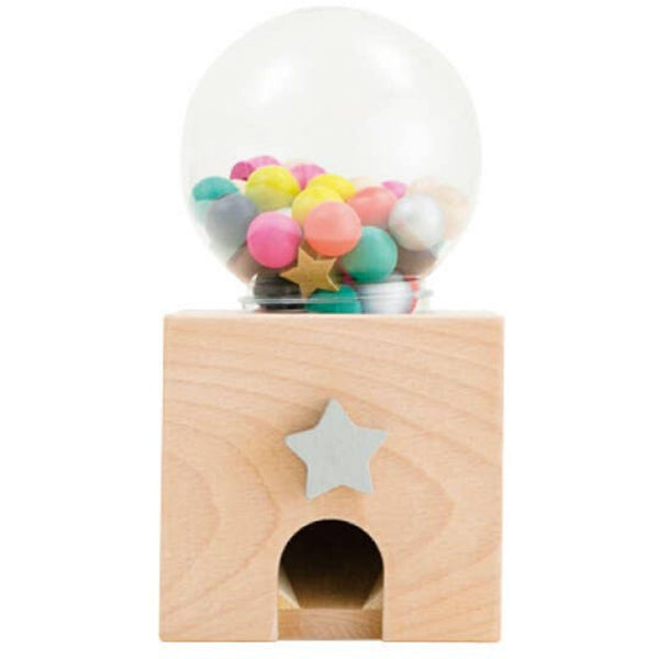 Gatcha Gatcha Wooden Gumball Dispenser