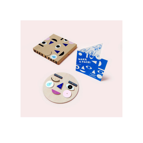 Make a Face | Wooden Activity Set