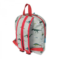 Oilcloth Waterproof Stain Resistant Toddler Backpack | Dinosaurs