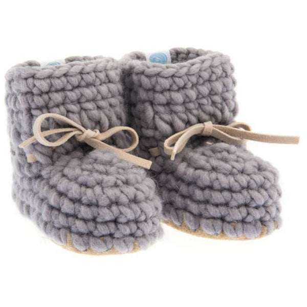 Sweater Knit Baby Moccs
