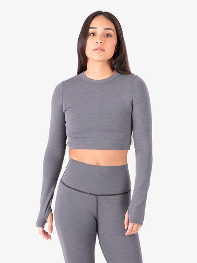 Pfeiffer Long Sleeve Crop