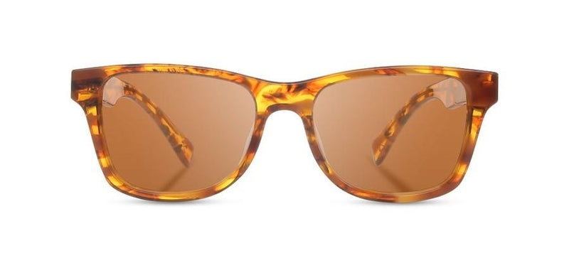 Canby: Cracked Amber // Elm Burl - Brown Polarized