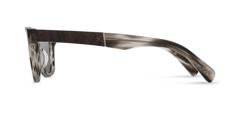 Canby: Matte Grey // Elm Burl - Grey Polarized