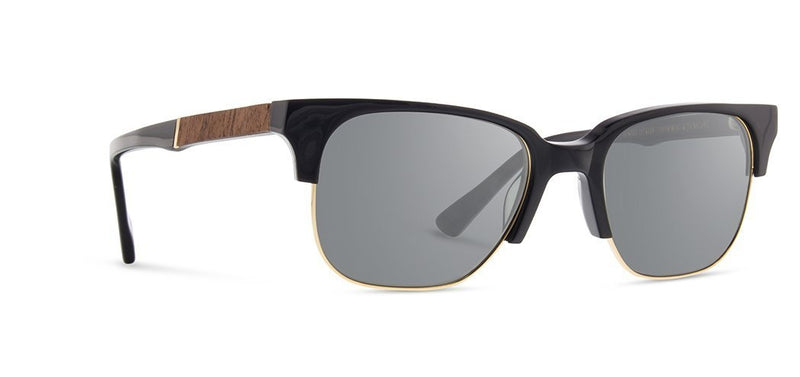 Newport 52mm: Black // Mahogany - Grey Polarized