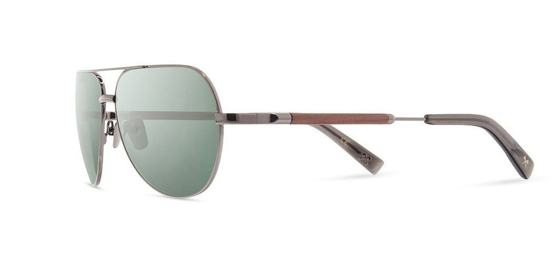 Redmond: Black Chrome Titanium Mahogany - G15 Polarized