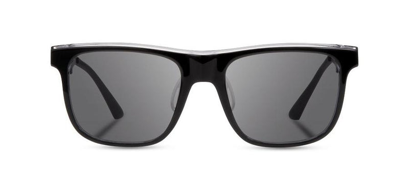 Monroe ACTV: Black Crystal // Elm Burl - Grey Polarized