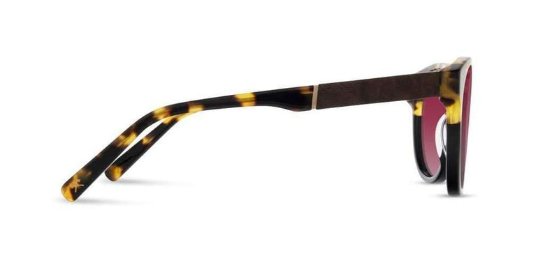 Madison: Leopard // Elm Burl - Rose Fade Polarized