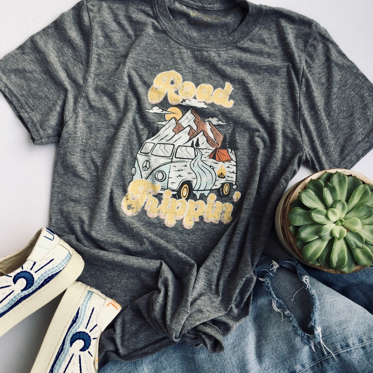Road Trippin Graphic T-Shirt - Brand Squawk Apparel