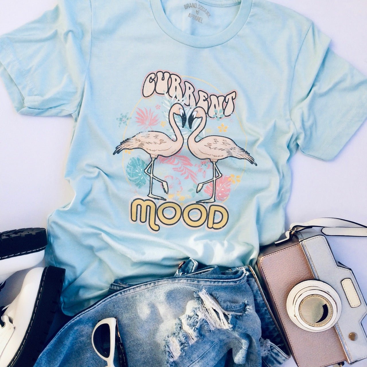 Current Mood Graphic T-Shirt - Brand Squawk Apparel