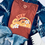 Stay Golden Graphic T-Shirt - Brand Squawk Apparel