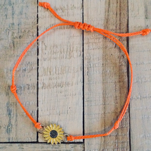 Sunflower Bracelet - Brand Squawk Apparel