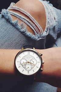 Thin Leather Watch