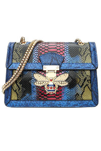 Bee Snake Chains Bag