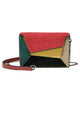 Colorful Geometric Crossbody Bag
