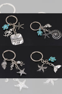Marine Animal Key Chain