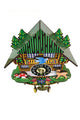Swinging Pendulum Wooden Cuckoo Wall Clock