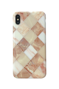 Rhombus Marble Phone Case